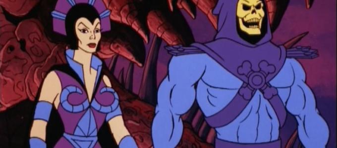 Evil-Lynn and Skeletor