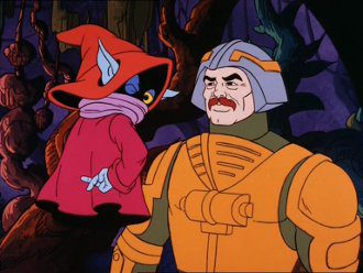 Orko and Man-at-Arms