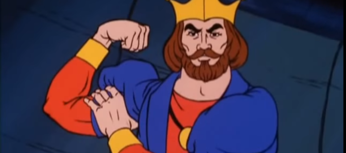 King Randor's Left Hook