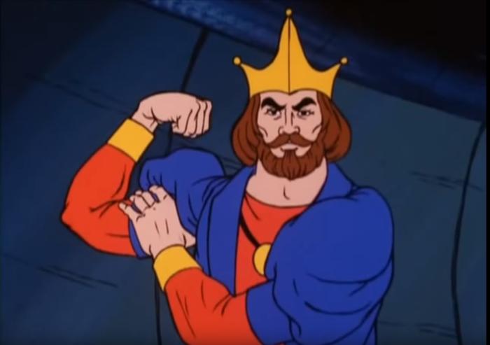 King Randor's Left Hook