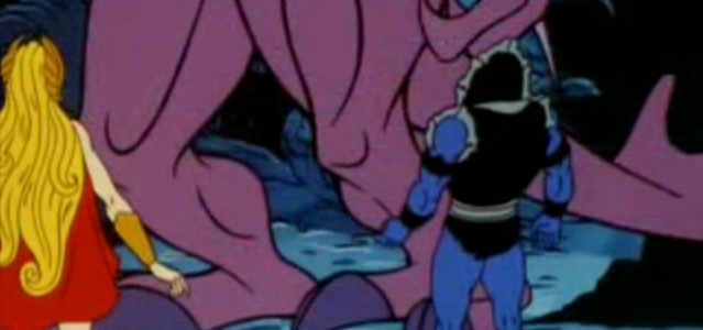 The Dark One - She-Ra and Hordak Team-Up
