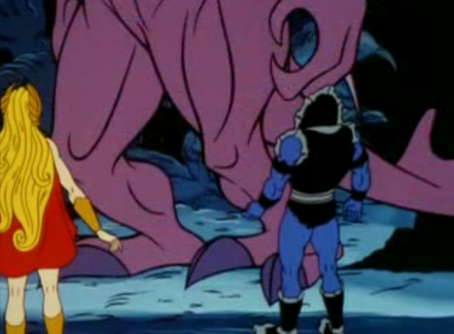 The Dark One - She-Ra and Hordak Team-Up
