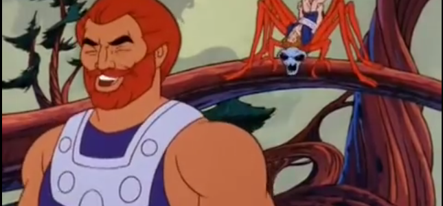 """Fisto chortling in """"Fisto's Forest"""""""