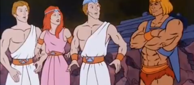 "The Darmi with He-Man in ""Disappearing Dragons"""